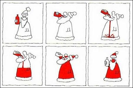 Babbo Natale Ubriaco.Babbo Natale Non Sono Ipocondriaco